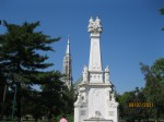 mic obelisc din parc