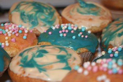 muffins colorate