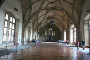 sala principala a vechiului palatului regal