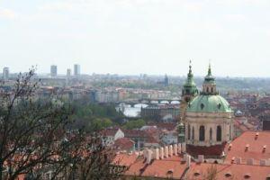 vedere din balconul vechiului palat regal