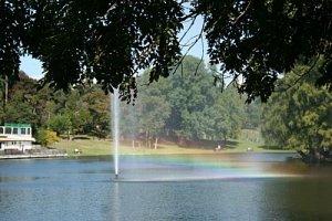curcubeu pe lac