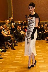 rochie alba ana cioclov